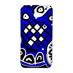 Blue high art abstraction HTC Butterfly S/HTC 9060 Hardshell Case