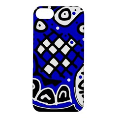 Blue high art abstraction Apple iPhone 5S/ SE Hardshell Case