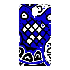 Blue high art abstraction Samsung Galaxy Note 3 N9005 Hardshell Back Case