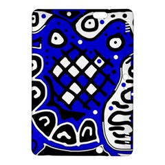 Blue high art abstraction Kindle Fire HDX 8.9  Hardshell Case