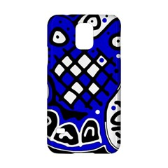 Blue high art abstraction Samsung Galaxy S5 Hardshell Case