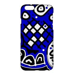 Blue high art abstraction Apple iPhone 6 Plus/6S Plus Hardshell Case