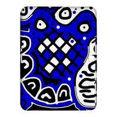 Blue high art abstraction Samsung Galaxy Tab 4 (10.1 ) Hardshell Case