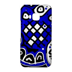Blue high art abstraction HTC One M9 Hardshell Case