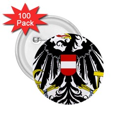 Coat of Arms of Austria 2.25  Buttons (100 pack)