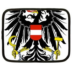 Coat of Arms of Austria Netbook Case (Large)