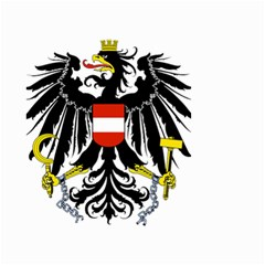 Coat of Arms of Austria Small Garden Flag (Two Sides)