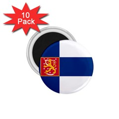 State Flag of Finland  1.75  Magnets (10 pack)