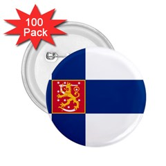 State Flag of Finland  2.25  Buttons (100 pack)