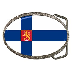 State Flag of Finland  Belt Buckles
