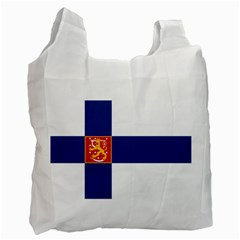 State Flag of Finland  Recycle Bag (One Side)