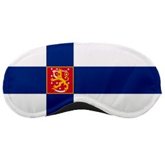 State Flag of Finland  Sleeping Masks