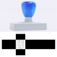 State Flag of Finland  Rubber Address Stamps (XL)