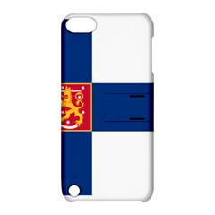 State Flag of Finland  Apple iPod Touch 5 Hardshell Case with Stand