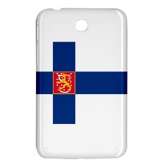State Flag of Finland  Samsung Galaxy Tab 3 (7 ) P3200 Hardshell Case