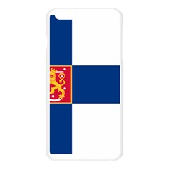 State Flag of Finland  Apple Seamless iPhone 6 Plus/6S Plus Case (Transparent)
