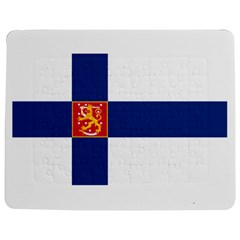 State Flag Of Finland  Jigsaw Puzzle Photo Stand (rectangular)