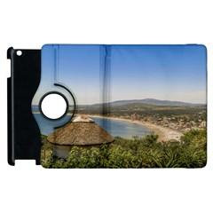 Landscape Aerial View Piriapolis Uruguay Apple Ipad 3/4 Flip 360 Case