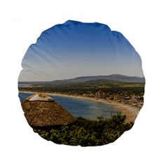 Landscape Aerial View Piriapolis Uruguay Standard 15  Premium Round Cushions