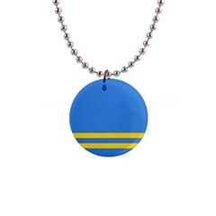 Flag of Aruba Button Necklaces