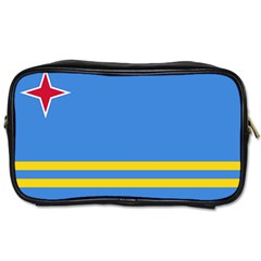 Flag of Aruba Toiletries Bags 2-Side