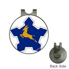 Roundel of the South African Air Force, 1958-1981 Hat Clips with Golf Markers
