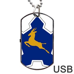 Roundel of the South African Air Force, 1958-1981 Dog Tag USB Flash (Two Sides)