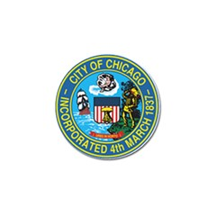 Seal of Chicago Golf Ball Marker (10 pack)