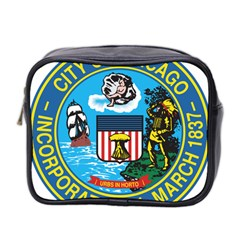 Seal of Chicago Mini Toiletries Bag 2-Side