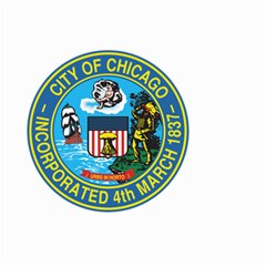 Seal of Chicago Large Garden Flag (Two Sides)