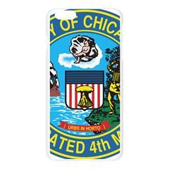 Seal of Chicago Apple Seamless iPhone 6 Plus/6S Plus Case (Transparent)