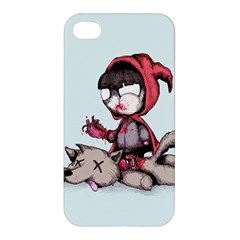 Bad Bitch Red Apple iPhone 4/4S Hardshell Case