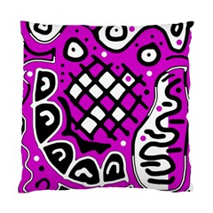 Magenta high art abstraction Standard Cushion Case (One Side)