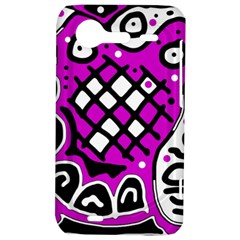 Magenta high art abstraction HTC Incredible S Hardshell Case
