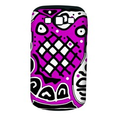 Magenta high art abstraction Samsung Galaxy S III Classic Hardshell Case (PC+Silicone)
