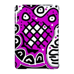 Magenta high art abstraction Apple iPad Mini Hardshell Case (Compatible with Smart Cover)