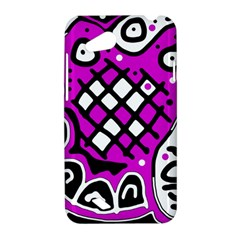 Magenta high art abstraction HTC Desire VC (T328D) Hardshell Case