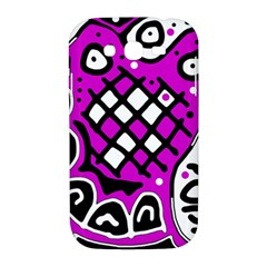 Magenta high art abstraction Samsung Galaxy Grand DUOS I9082 Hardshell Case