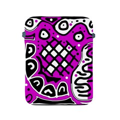 Magenta high art abstraction Apple iPad 2/3/4 Protective Soft Cases