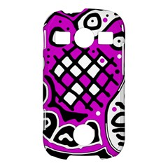 Magenta high art abstraction Samsung Galaxy S7710 Xcover 2 Hardshell Case