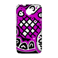Magenta high art abstraction HTC Desire 601 Hardshell Case