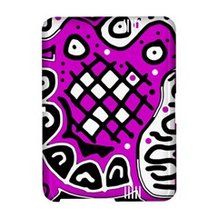 Magenta high art abstraction Amazon Kindle Fire (2012) Hardshell Case