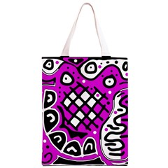 Magenta high art abstraction Classic Light Tote Bag