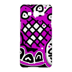Magenta high art abstraction Samsung Galaxy A5 Hardshell Case