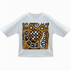 Yellow high art abstraction Infant/Toddler T-Shirts
