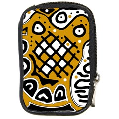 Yellow high art abstraction Compact Camera Cases