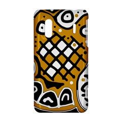 Yellow high art abstraction HTC Evo Design 4G/ Hero S Hardshell Case