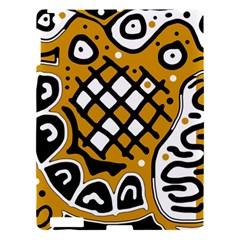 Yellow high art abstraction Apple iPad 3/4 Hardshell Case