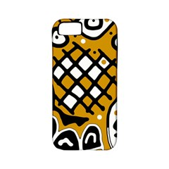 Yellow high art abstraction Apple iPhone 5 Classic Hardshell Case (PC+Silicone)