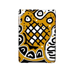 Yellow high art abstraction iPad Mini 2 Hardshell Cases
